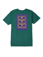 OBEY FLASHBACK BASIC TEE // TEAL