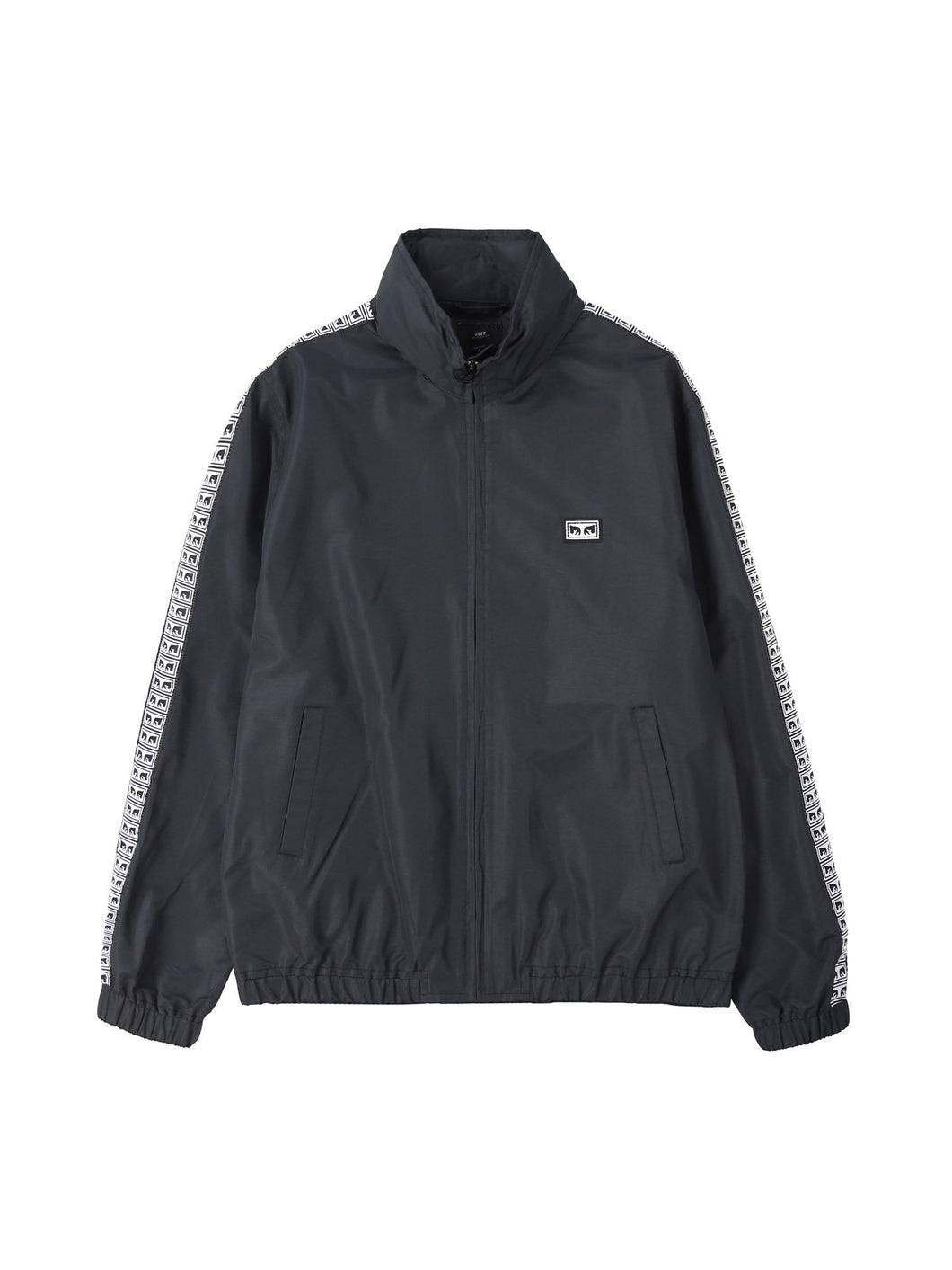 OBEY EYES TRACK JACKET // BLACK