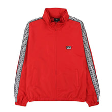OBEY EYES TRACK JACKET // HOT RED