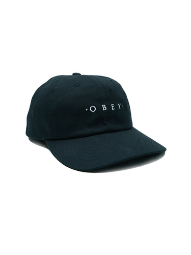 OBEY INTENTION 6 PANEL // BLACK