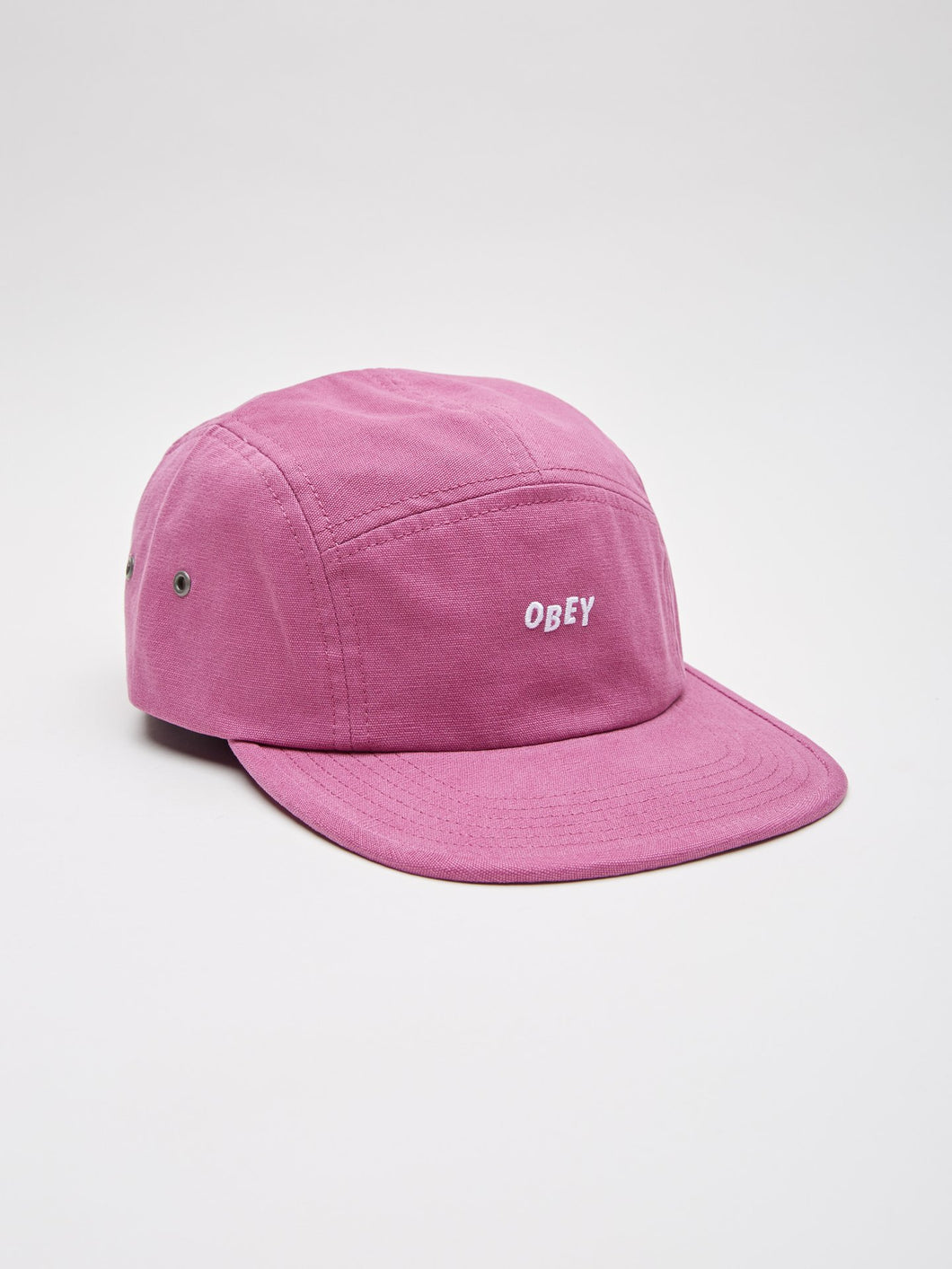 6aba270bd752d OBEY JUMBLE BAR 5 PANEL HAT    MAGENTA – Collateral