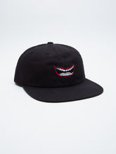 OBEY LIPS 6 PANEL SNAPBACK // BLACK