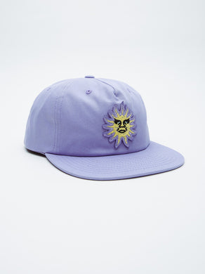 OBEY RISING SUN SNAPBACK // LAVENDER