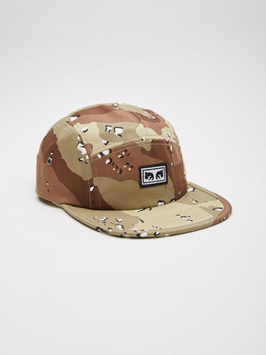 OBEY SUBVERSION 5 PANEL HAT // CHOCO CHIP CAMO