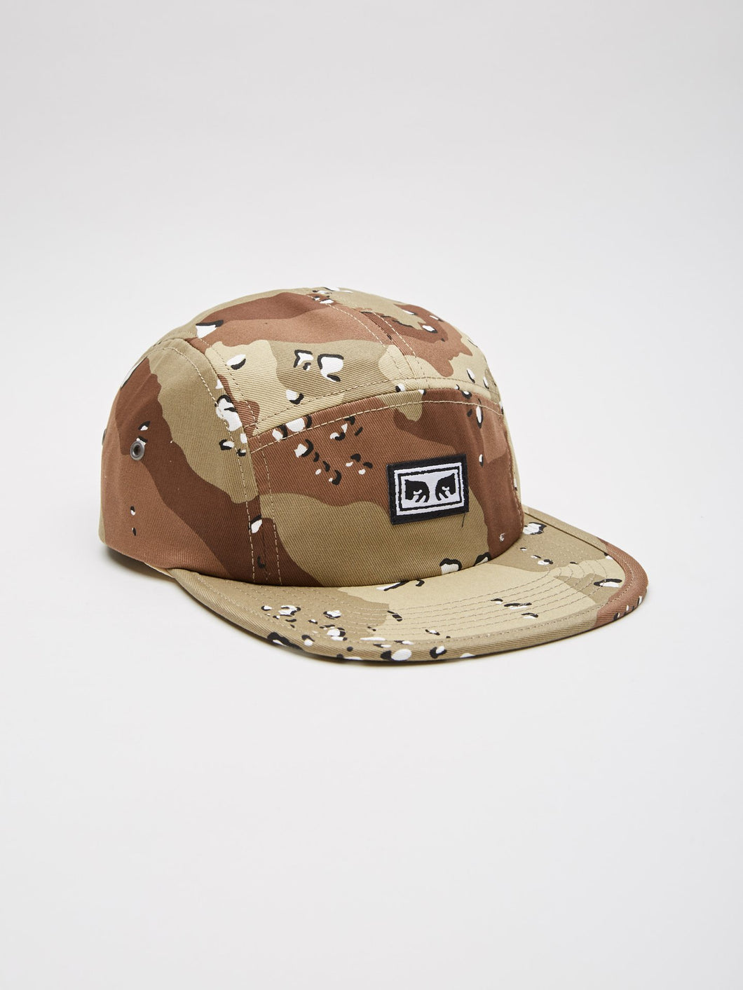 a615179817b OBEY SUBVERSION 5 PANEL HAT    CHOCO CHIP CAMO – Collateral