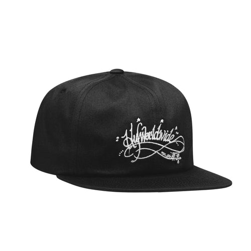 HUF OG HARRY 6-PANEL HAT // BLACK