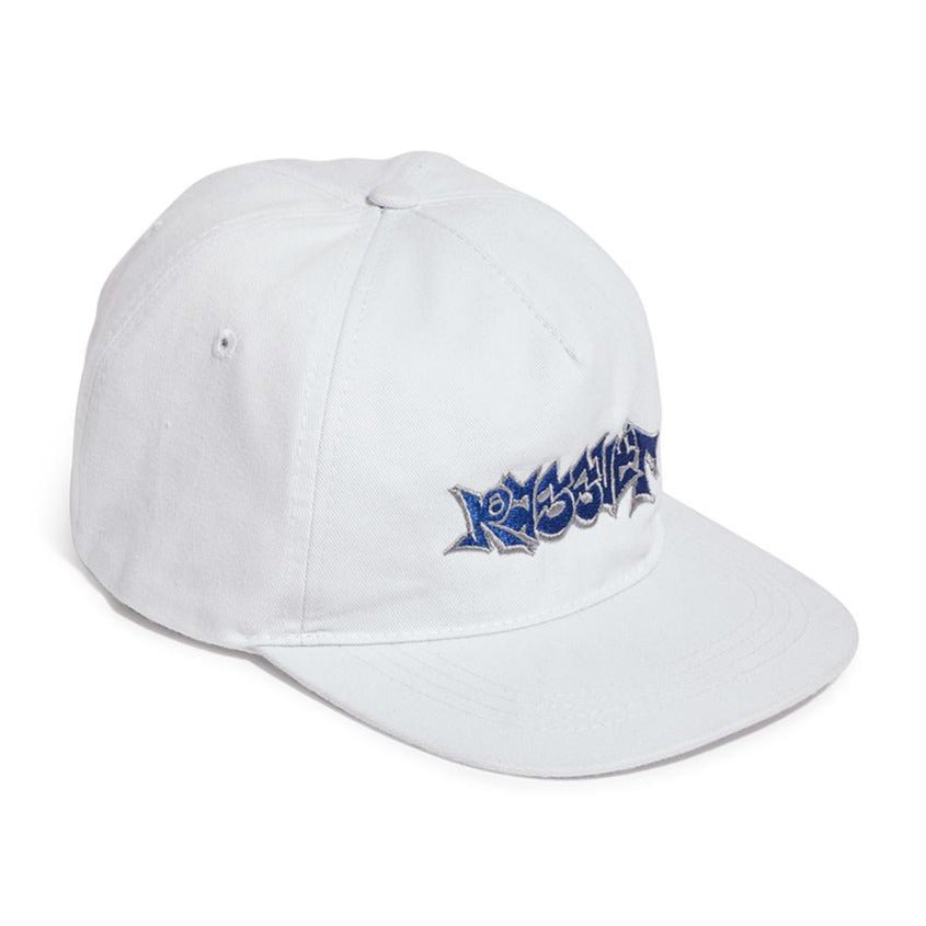 RASSVET CAP WITH EMBROIDERY // WHITE