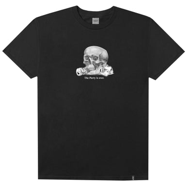 HUF PARTYS OVER T-SHIRT // BLACK