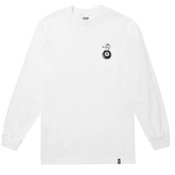 HUF X PEANUTS FLYING ACE L/S TEE // WHITE