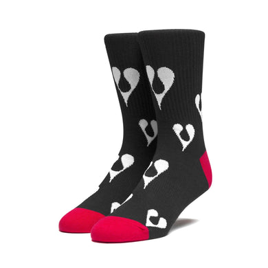 HUF X PHIL FROST SOCKS // BLACK