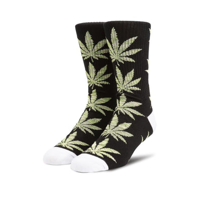 HUF PLANTLIFE MELANGE LEAVES SOCK // BLACK