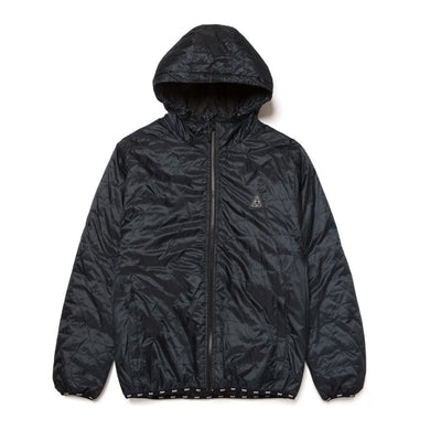 HUF POLYGON QUILTED JACKET // BLACK