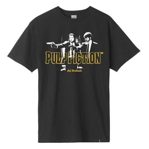 HUF X PULP FICTION PULP ERA T-SHIRT // BLACK