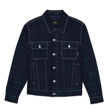 RASSVET MEN'S JACKET // GREEN CHECKS