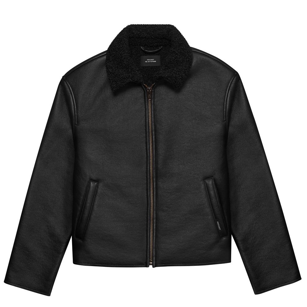 RASSVET MEN'S JACKET // BLACK