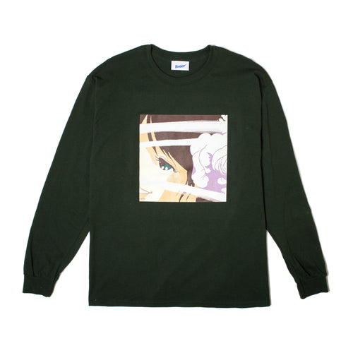 BetterTM VOYEUR 3 L/S TEE // FOREST GREEN