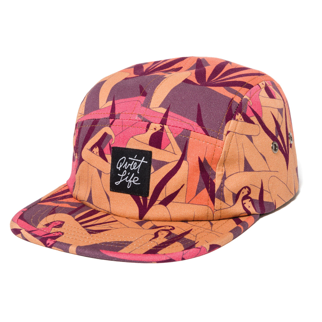 THE QUIET LIFE BERGER 5 PANEL CAMPER HAT // RED
