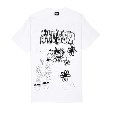 STÜSSY BAD DREAM TEE // WHITE
