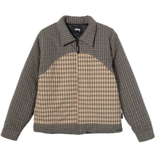 STÜSSY PLAID FILL JACKET // MULTI
