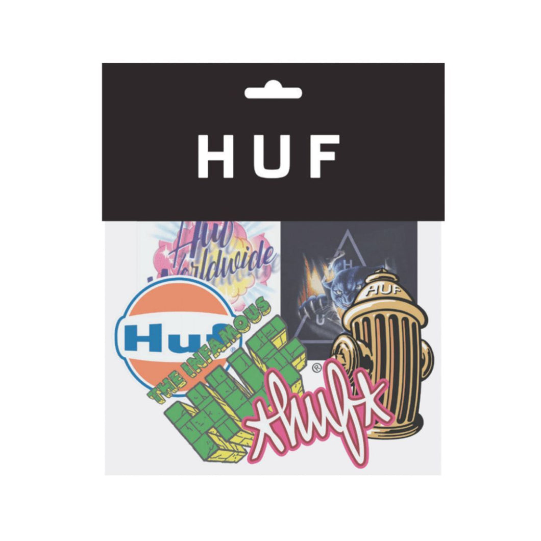HUF SU20 STICKER SET // ASSORTED