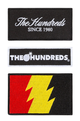 THE HUNDREDS LOGOS PATCH PACK // MULTI