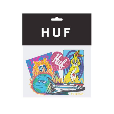 HUF FA20 STICKER SET // ASSORETED