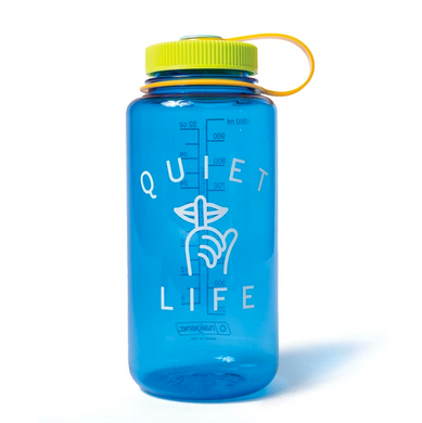 THE QUIET LIFE SHHH WATER BOTTLE // BLUE