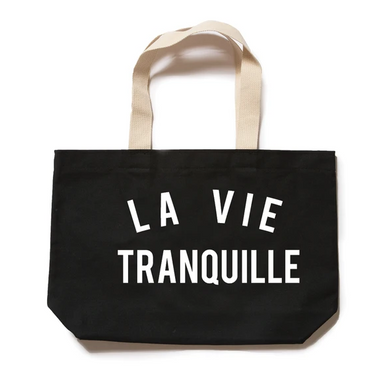 THE QUIET LIFE LA VIE TOTE BAG // BLACK