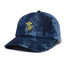 THE QUIET LIFE SHHH DAD HAT // DENIM TIE DYE