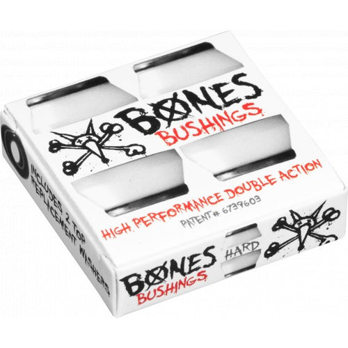 BONES HARDCORE BUSHINGS HARD // WHITE