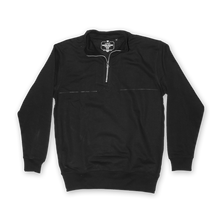 AITSCH QUARTER ZIP // BLACK