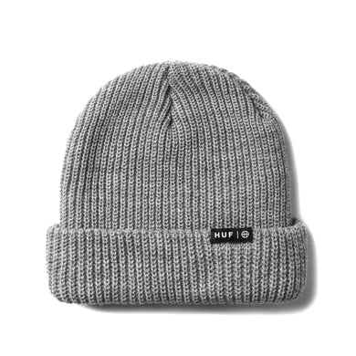 HUF ESSENTIALS USUAL BEANIE // GREY HEATHER