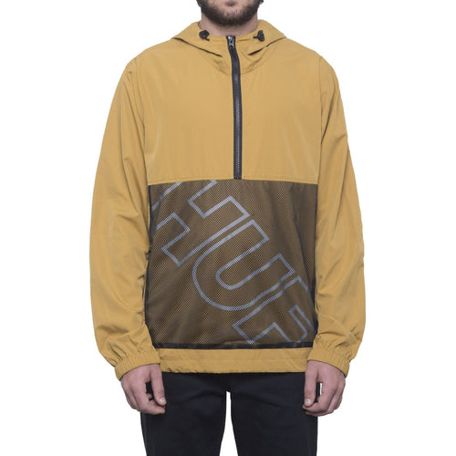 HUF WIRE FRAME ANORAK // HONEY MUSTARD