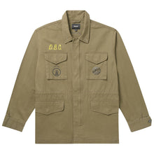HUF X WOODSTOCK OBJECTOR M65 JACKET // OLIVE