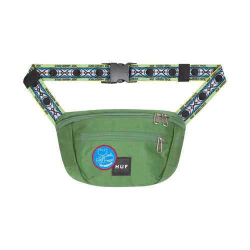 HUF X WOODSTOCK SIDE TRIP BAG // OLIVE
