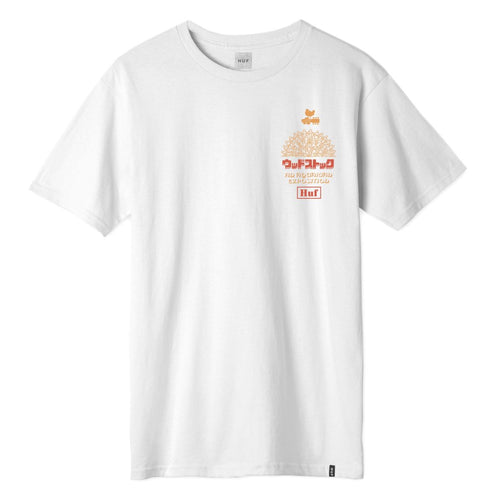 HUF X WOODSTOCK WW CULTURE S/S TEE // WHITE