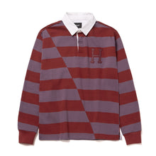 HUF YORKE L/S RUGBY // BRICK