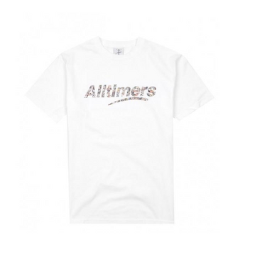 ALLTIMERS CROWD TEE // WHITE