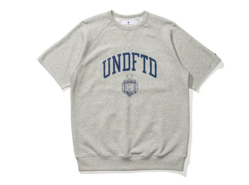UNDEFEATED COLLEGE S/SL CREWNECK // GREY HEATHER