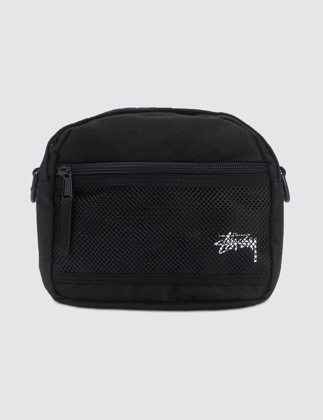 STÜSSY STOCK POUCH BAG // BLACK