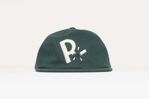 33e211dadcb PARRA 6 PANEL HAT MOVING ON    FOREST GREEN