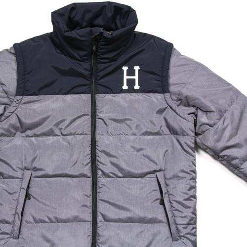HUF ALPINE JACKET // GREY HEATHER-The Collateral