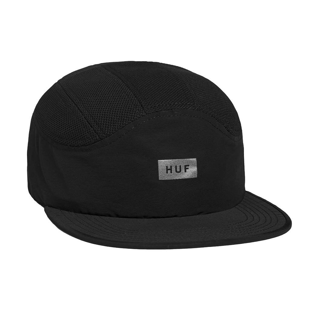 HUF BAR LOGO 7 PANEL // BLACK-The Collateral