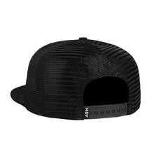 HUF BOX LOGO TRUCKER // BLACK-The Collateral