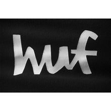 HUF CHUNK WORLDWIDE PULLOVER HOOD // BLACK-The Collateral