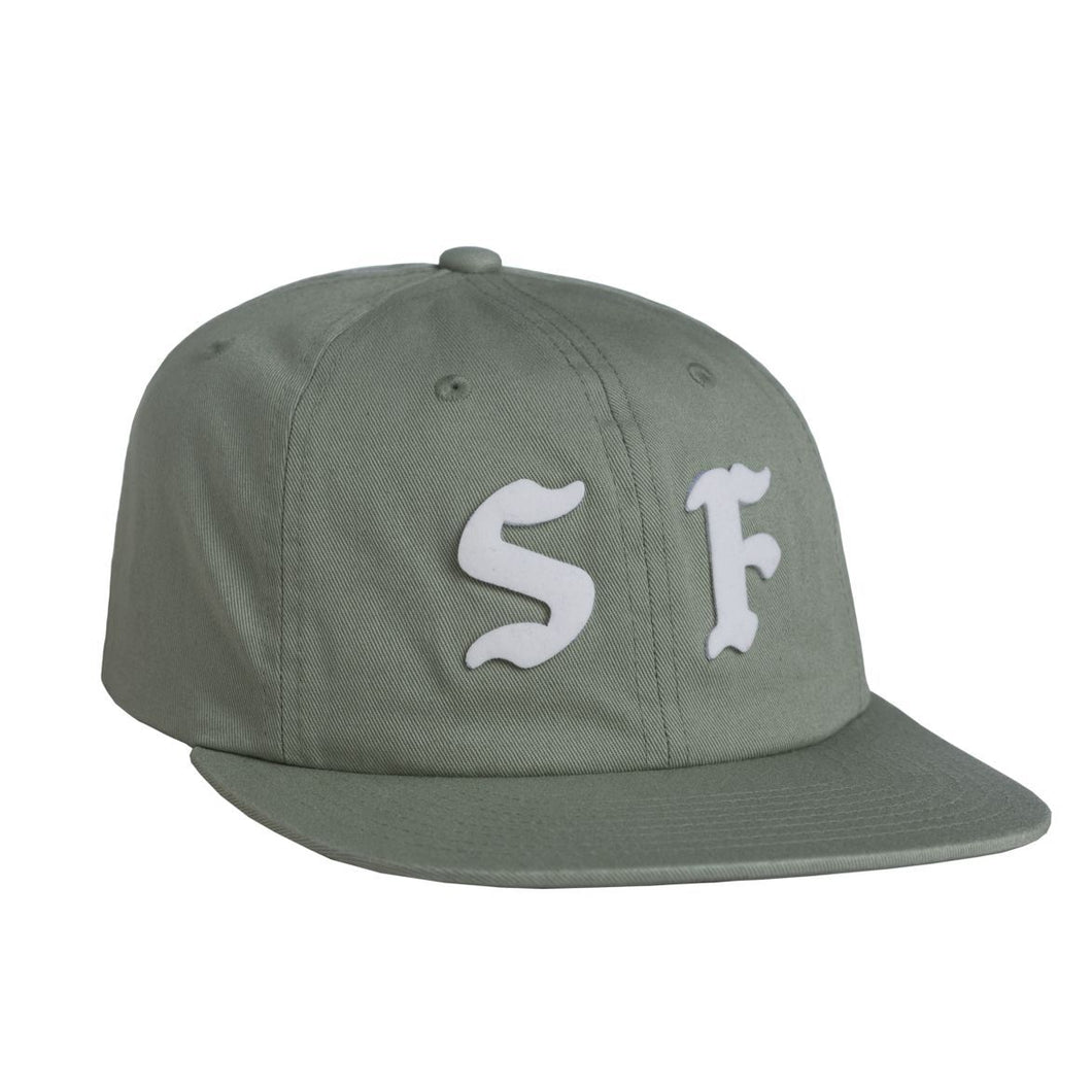HUF CITIES 6 PANEL // MIST GREEN-The Collateral