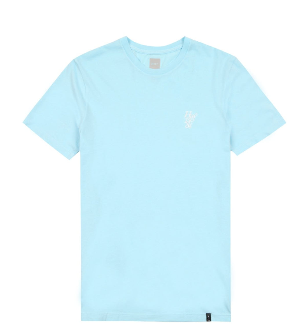 HUF COUNTRY CLUB OVERDYE TEE // CRYSTAL BLUE-The Collateral