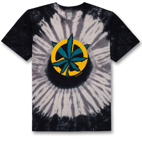 HUF DISTURB THE PEACE TIEDYE TEE \\ GREY-The Collateral