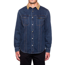 HUF DUNGAREE DENIM SHIRT JACKET // BLUE WASHED DENIM-The Collateral
