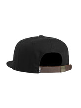 HUF DWR SCRIPT 6 PANEL // BLACK-The Collateral